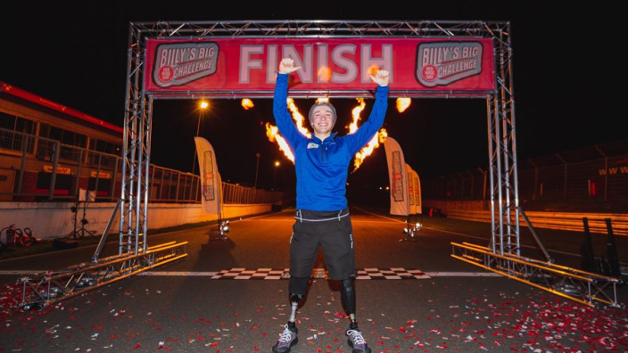 Monger completes 140-mile Comic Relief challenge