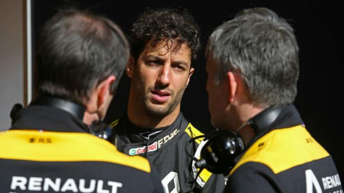 Ricciardo dismisses Red Bull accusation of 'running' from Verstappen