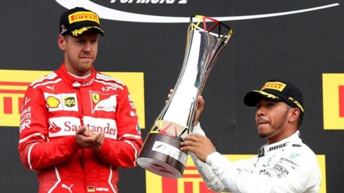 Hamilton: 'Ferrari was sneller op Spa, dus ik ben voorzichtig'