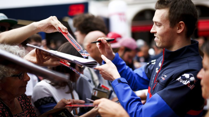 Kvyat to replace Gasly? 'He has the speed'