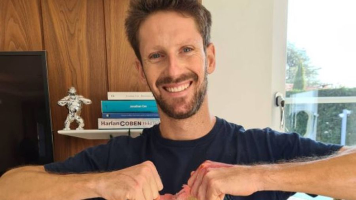 Grosjean finally pain-free 53 days after miracle escape from fireball crash