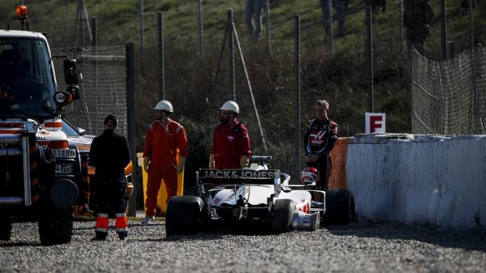 Steiner: 'Kapotte wheel spacer reden voor crash Magnussen'