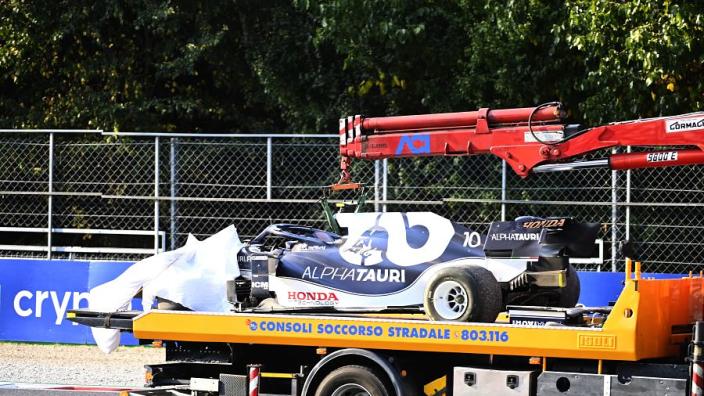 Gasly krijgt nieuwe Honda-motor en versnellingsbak en start vanuit de pitstraat