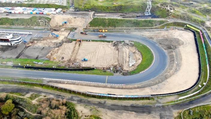 IN BEELD: Alle foto's van de werkzaamheden aan Circuit Zandvoort