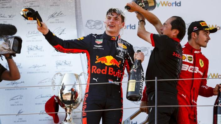 'Speciale Red Bull-tribune voorbereid door Honda voor Japanse GP'
