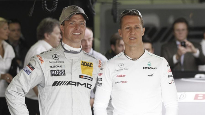 "Schumacher boys ""need more time"" to develop"