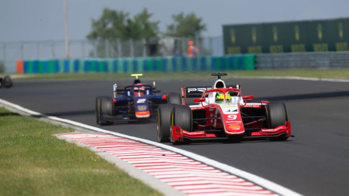 Mick Schumacher takes his first Formula Two win in Hungary