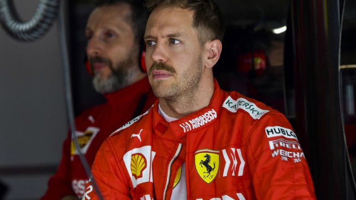 Vettel struggled to find 'rhythm' in Chinese GP