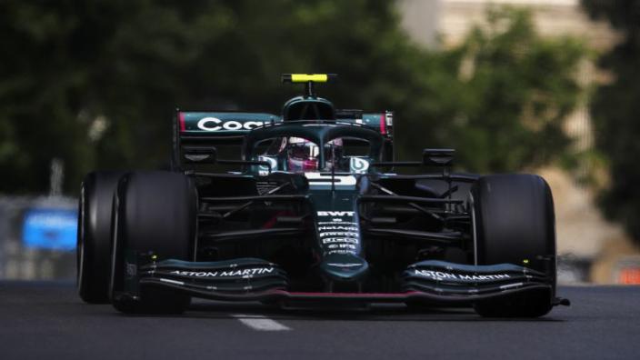 """Vettel na verrassend podium in Bakoe: """"Het is een geweldige dag voor het team"""""""