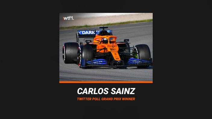 HAHA! Sainz in de war na winst Grand Prix