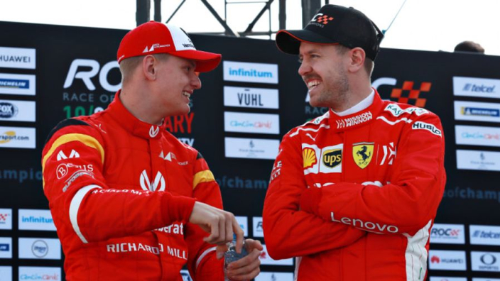 Vettel: Schumacher can revive F1 in Germany