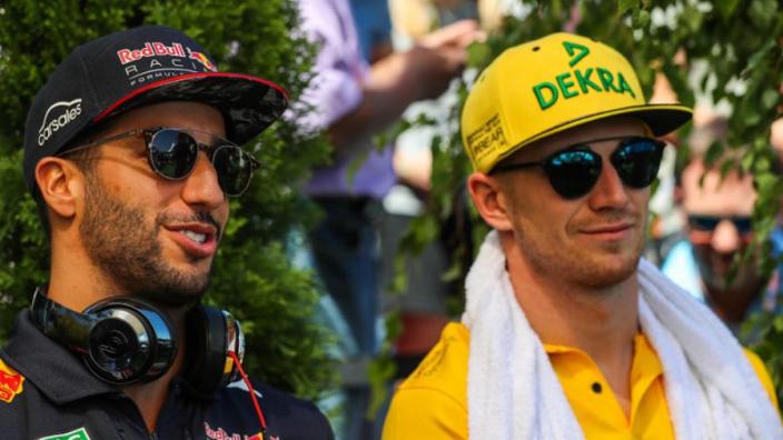 Cijfers van Hülkenberg zeggen Ricciardo niets: 'Iedereen weet van welk kaliber hij is'