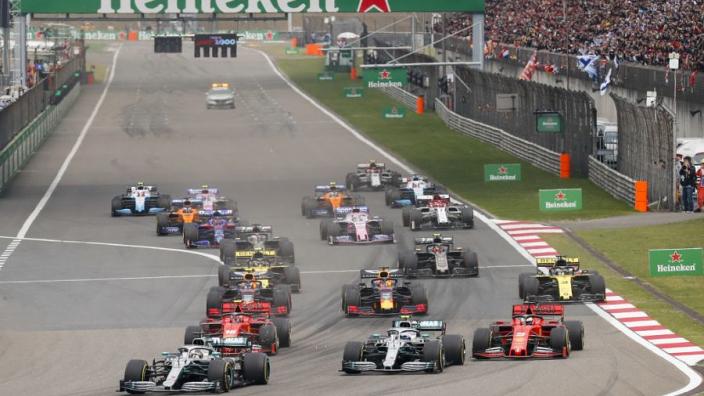 Buitenlandse media: 'Saaie race, Mercedes gewoon weer dominant'