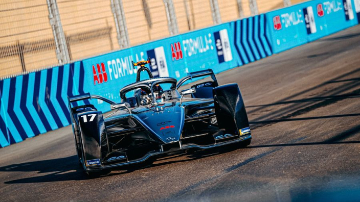Mercedes, Porsche on podium in Formula E debut but Bird wins