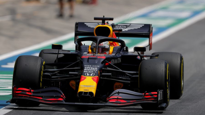"Verstappen hopes for ace up sleeve against ""different level"" Mercedes"