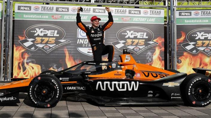 McLaren test awaits O'Ward after winning bet with boss Brown