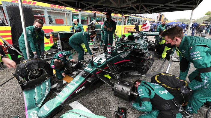 Aston Martin baffled by fiery brakes and dodgy gearbox as new season woes continue
