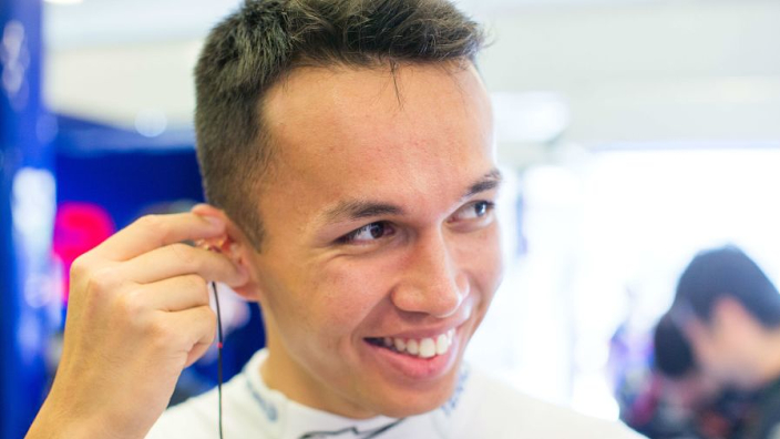 Alex Albon's amazing journey from the wilderness to Red Bull