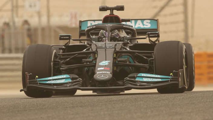 Mercedes bottom of F1 lap chart: Pre-season testing by numbers