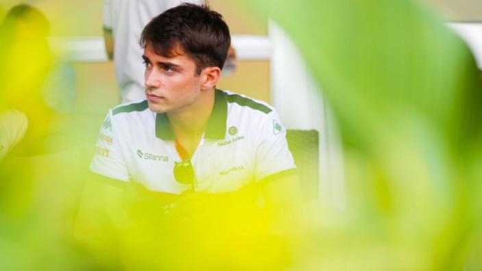 Charles Leclerc deze week al in actie met Ferrari