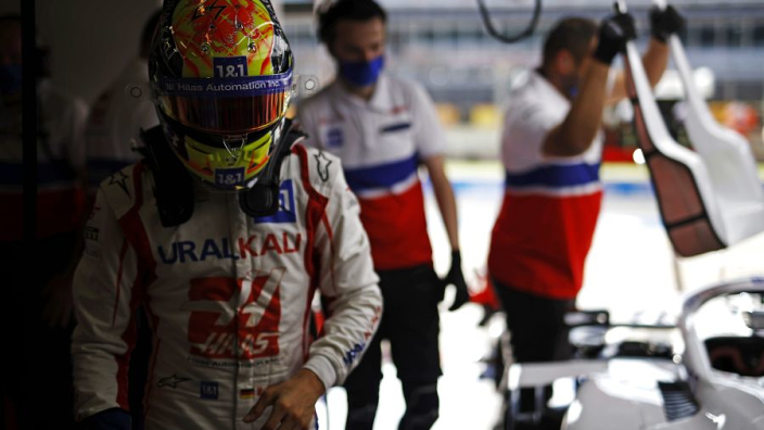 Schumacher Haas contract hold up explained