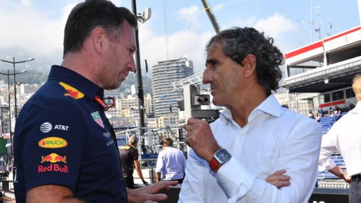 """Alain Prost: """"We vinden het niet erg om Red Bull te zien gaan"""""""