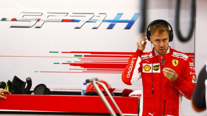 Vettel penalty decided by FIA after weighbridge incident