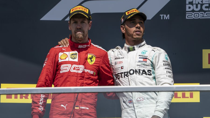 Vettel reveals what forced him to the Canada podium
