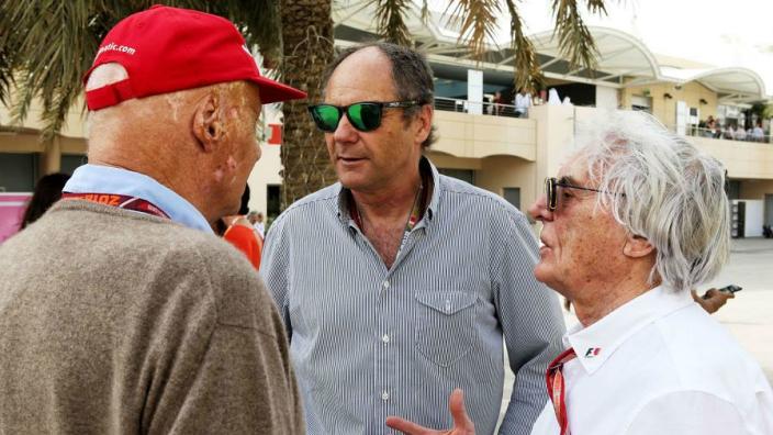 Lauda unfazed by Ferrari and Ecclestone - Damon Hill