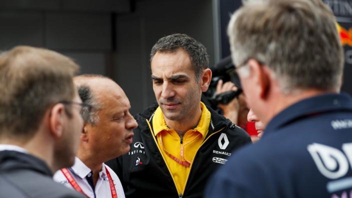 Persconferentie: Renault en Racing Point naast elkaar, Binotto onder vuur