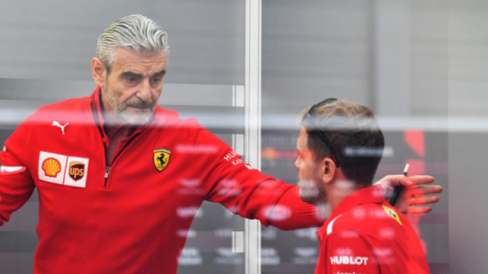 Vettel backed by passionate Arrivabene: 'Should I fire him?!'