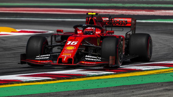 Leclerc : Ferrari est loin de Mercedes, un point c'est tout