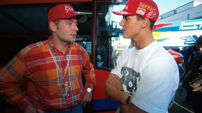 Jos Verstappen over Schumacher: 'Samen op vakantie, prachtige foto's van hem en kleine Max'