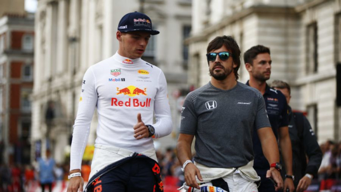Verstappen wanted more fights with Alonso