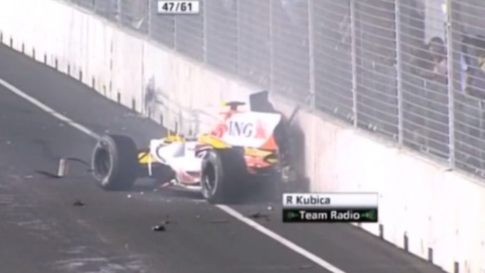 VIDEO: Singapore 2008: de crash die de Formule 1 op z'n kop zette