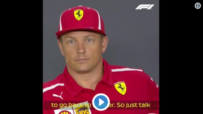 VIDEO: Raikkonen on frosty form over Ferrari exit and Sauber move