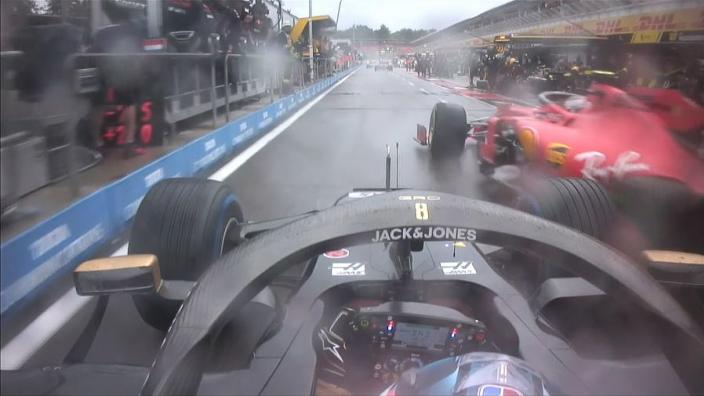 Verstappen: Leclerc reprieve wasn't fair