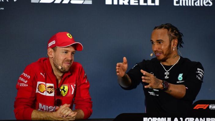 Hamilton censors self amid Ferrari talk