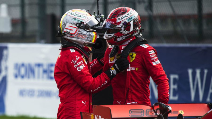 Ferrari hint at reason for Vettel's deficit to Leclerc