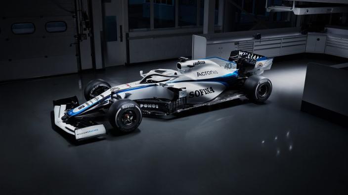 Williams reveal new look after ROKiT split