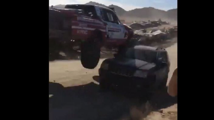 VIDEO: Rossi's terrifying 'oh sh*t' moment in Baja 1000