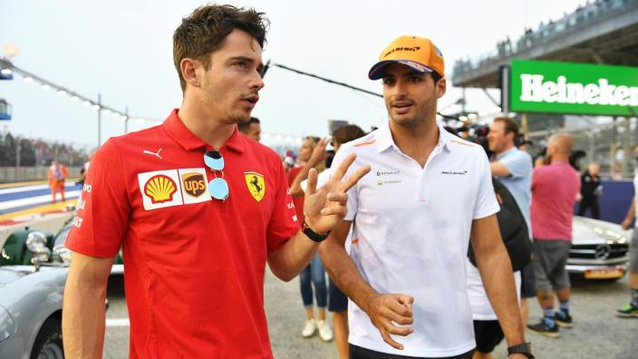 """Leclerc kijkt uit naar komst Sainz: """"Ik ben niet ineens de nummer één"""""""