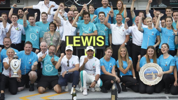 'Very difficult' stopping another Mercedes title double