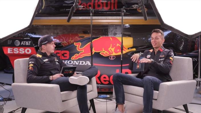VIDEO: Verstappen, Albon review Red Bull's 2019 in F1