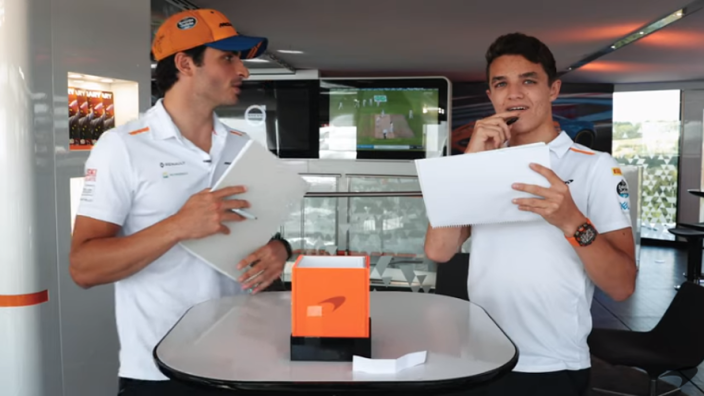 VIDEO: Sainz and Norris' funniest moments!