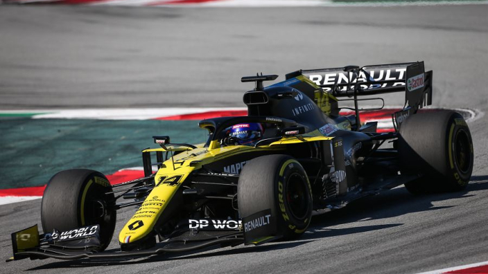 "Alonso senses Renault ""potential"" after Barcelona test"
