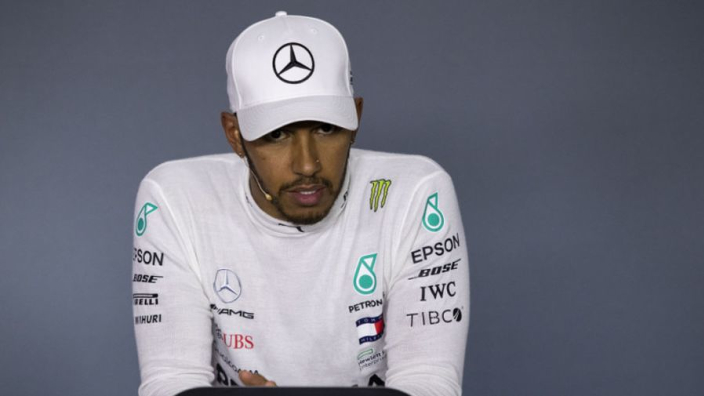 Pressure is 'highest' it has ever been, claims Hamilton