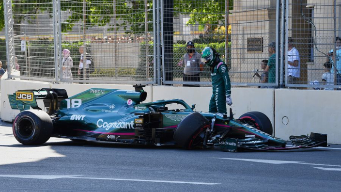 """Aston Martin fear """"real and serious problem"""" with Pirelli tyres after Baku failures"""