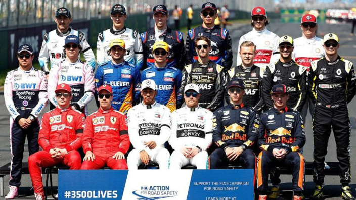 F1 2020 driver line-up as it stands