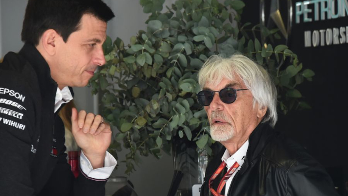 """Ecclestone: """"Toen Ferrari en Red Bull dominant waren, was het niet zo erg als nu"""""""